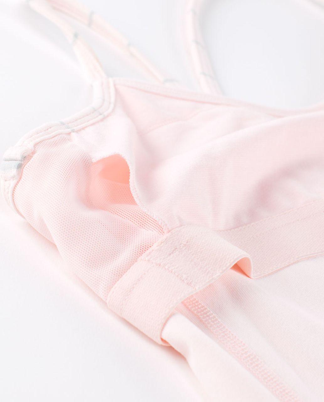 Lululemon Power Y Tank *Luon Light - Pretty Pink / Slalom Stripe Pretty Pink