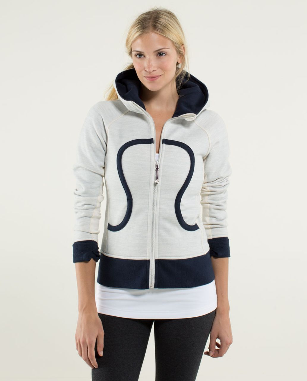 Lululemon Scuba Hoodie *Stretch (Lined Hood) - Commuter Denim Angel Wing / Inkwell