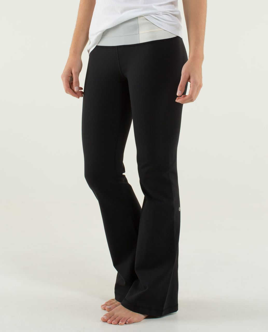 Lululemon Groove Pant (Tall) - Black / Quilt 13 Fall 2013