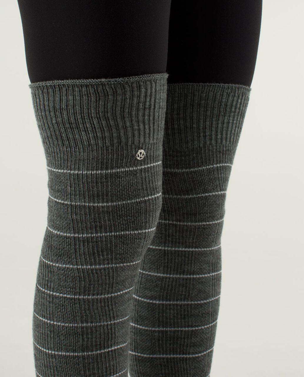 Lululemon Savasana Sock - Soot Light / Angel Wing