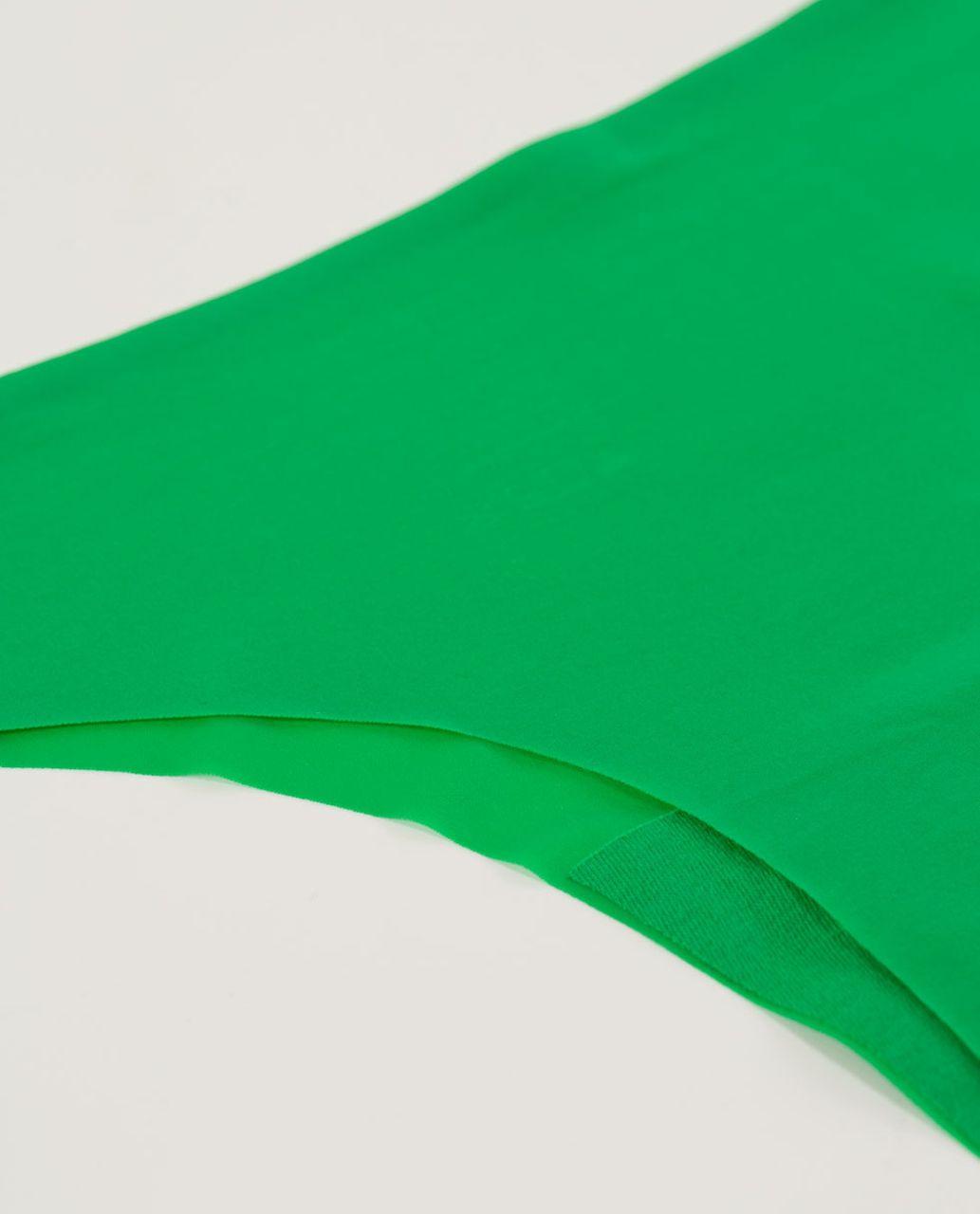 Lululemon Light As Air Thong - Green Bean