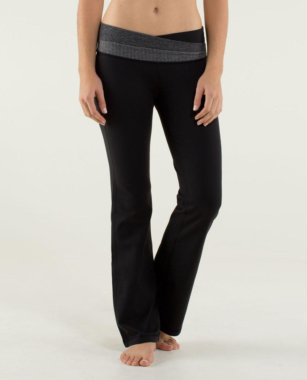 52bc86749a Lululemon Astro Pant *Brushed (Regular) - Black / Black / Deep Coal /  Heathered Slate / Black - lulu fanatics