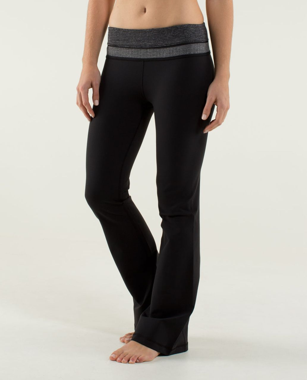 Lululemon Groove Pant *Brushed (Regular) - Black / Black / Deep Coal / Heathered Slate / Black
