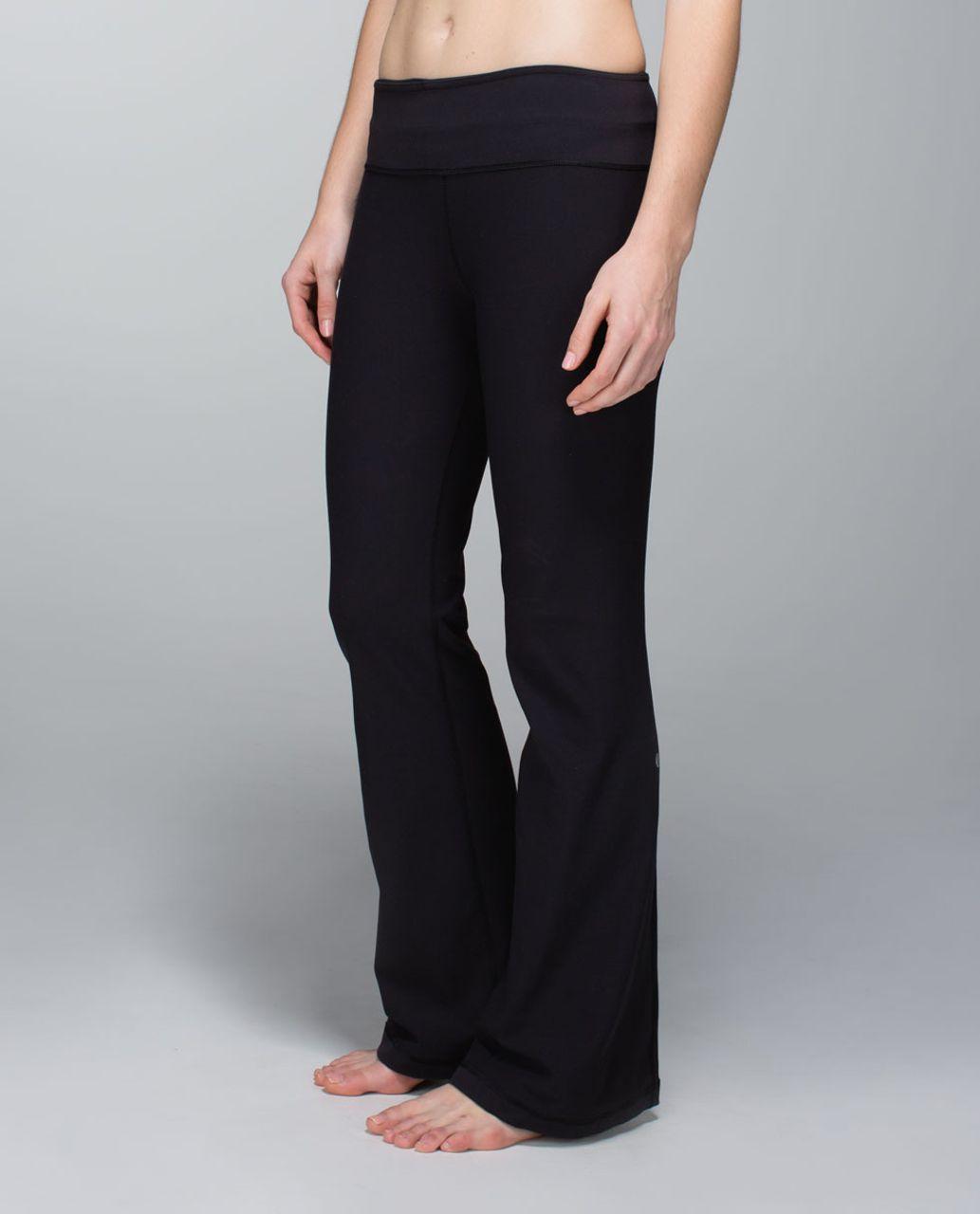 Lululemon Groove Pant *Brushed (Regular) - Black