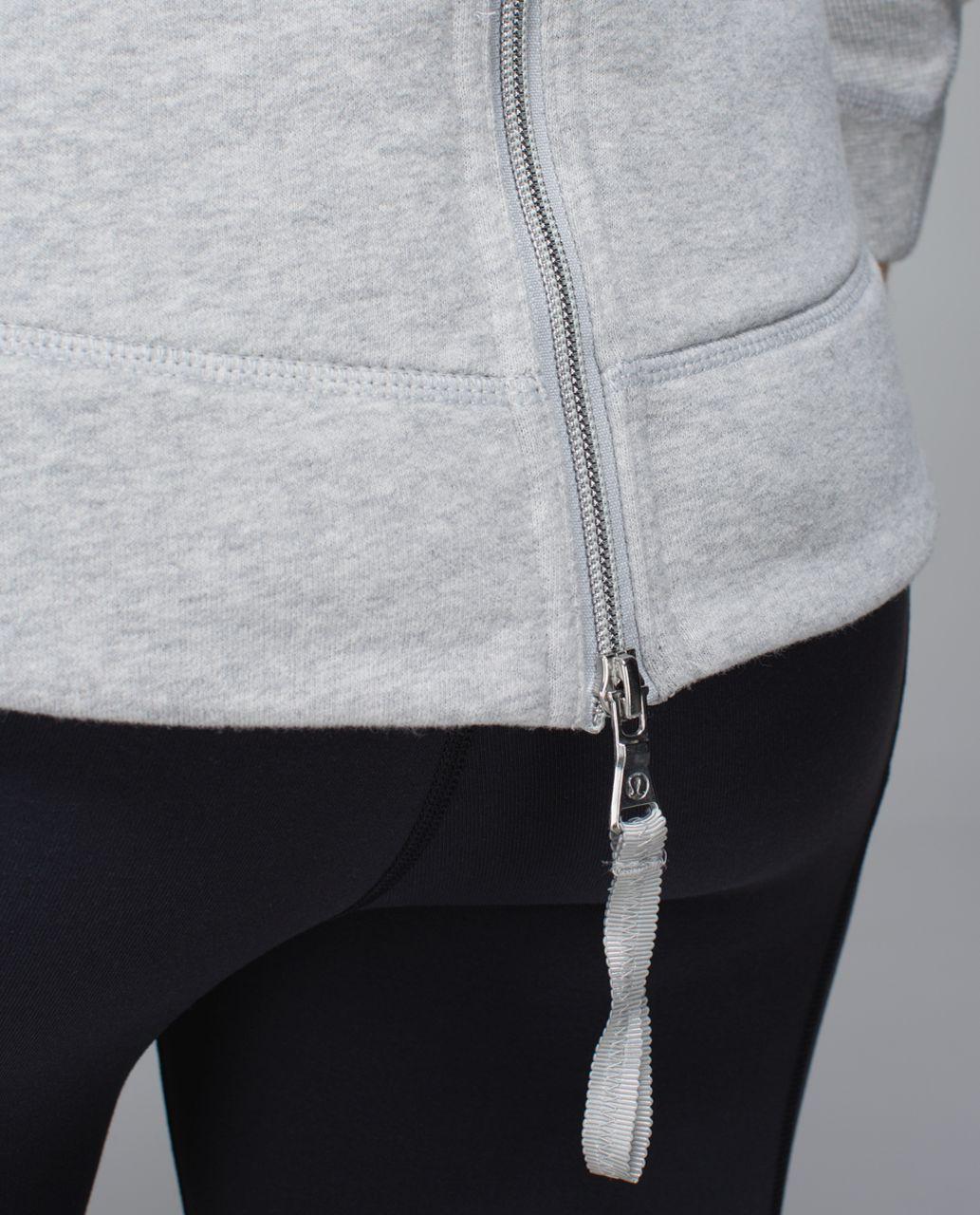 Lululemon En Route Jacket - Heathered Light Grey / Soot Light / Silver Spoon / Heathered Light Grey
