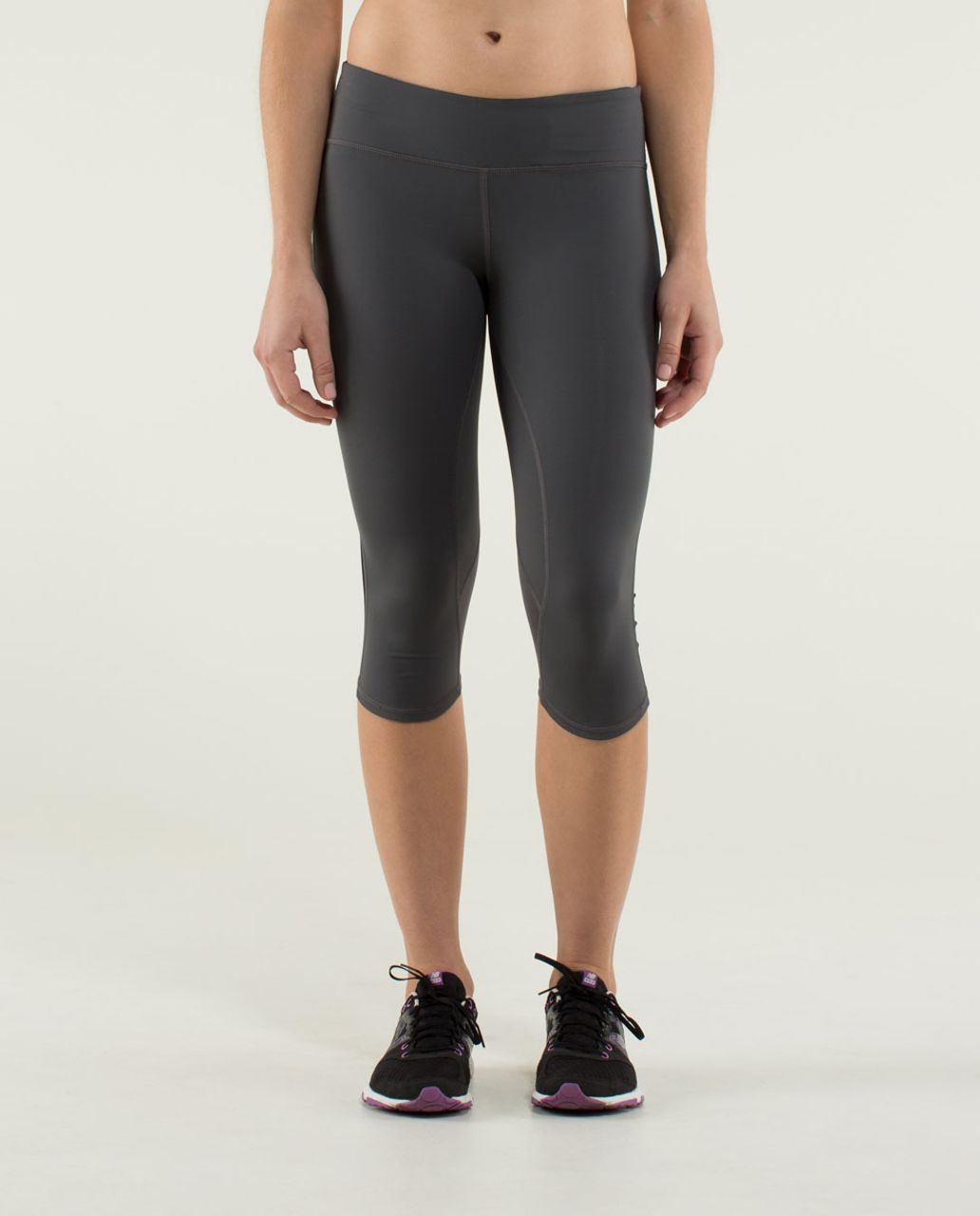 Lululemon Ride Inside Crop - Soot Light