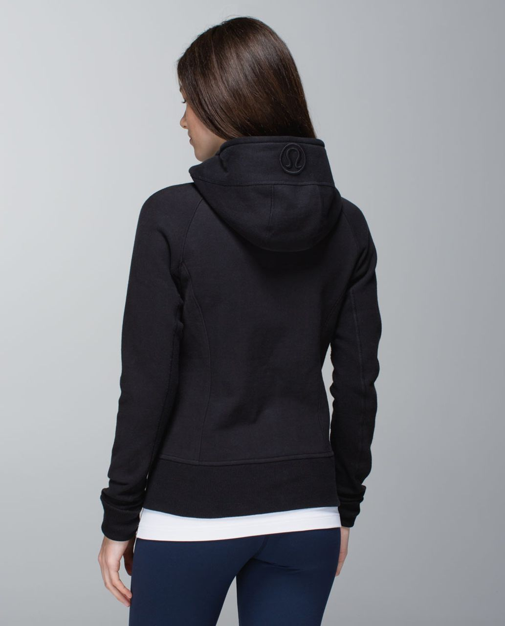 Lululemon Scuba Hoodie *Stretch (Lined Hood) - Black