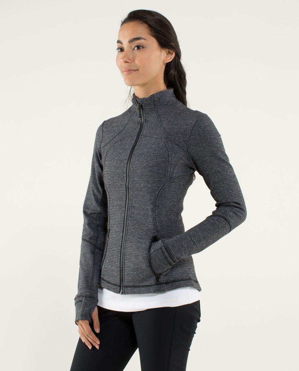 Lululemon Forme Jacket II *Textured - Black / Deep Coal