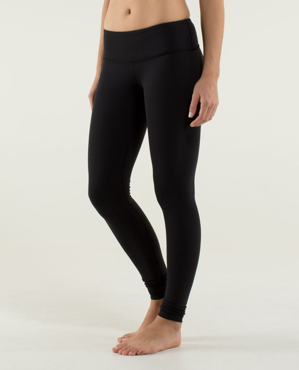 Lululemon Wunder Under Pant *Brushed (Second Release) - Black