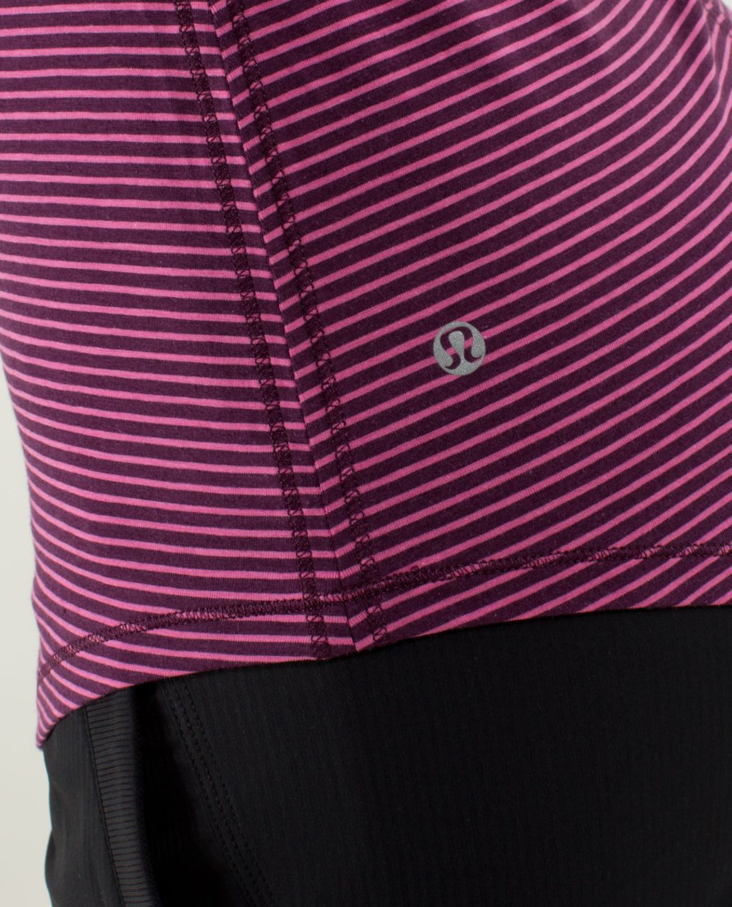 Lululemon Karma Long Sleeve - Hyper Stripe Afterglo