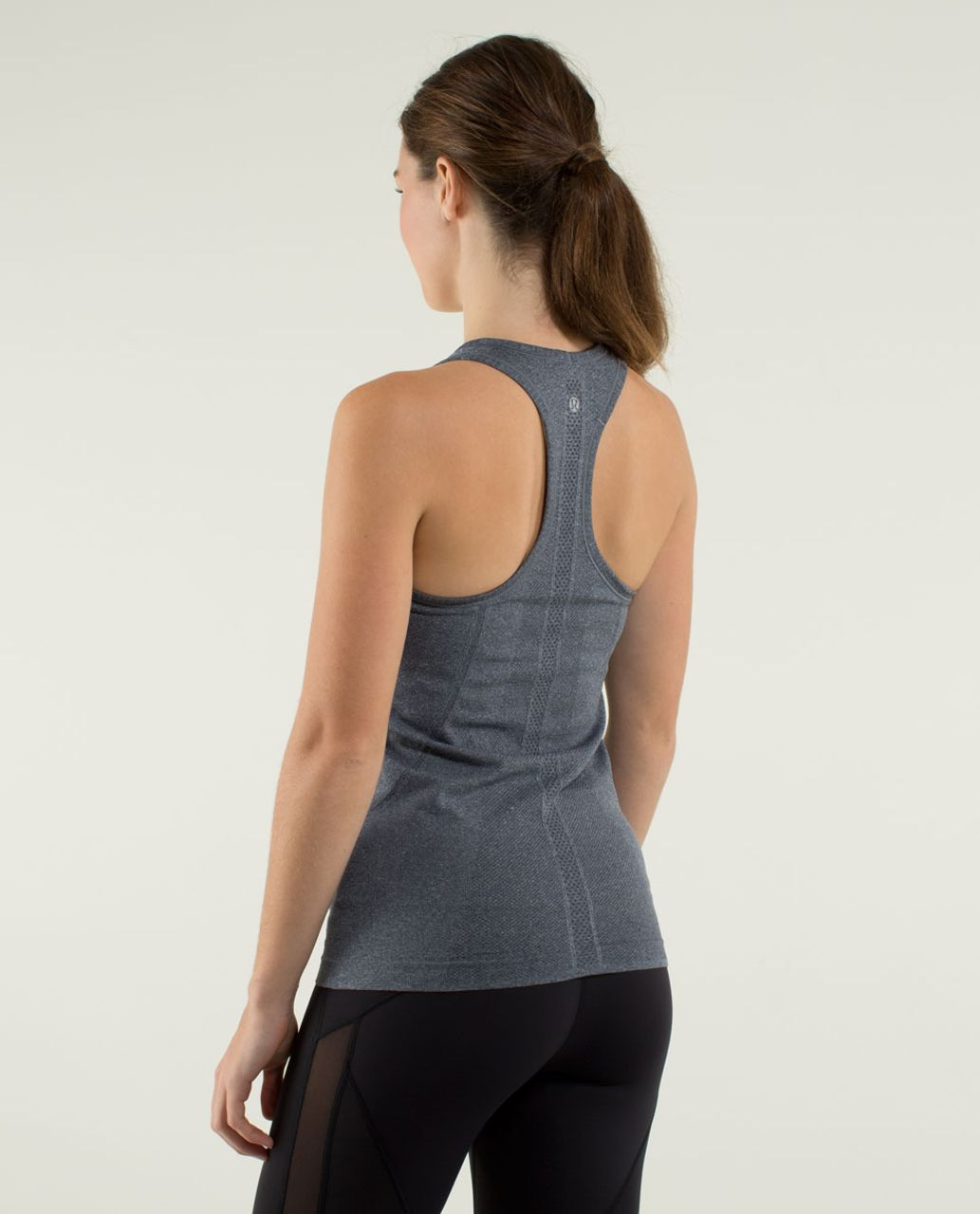 Lululemon Run:  Swiftly Tech Racerback - Heathered Inkwell