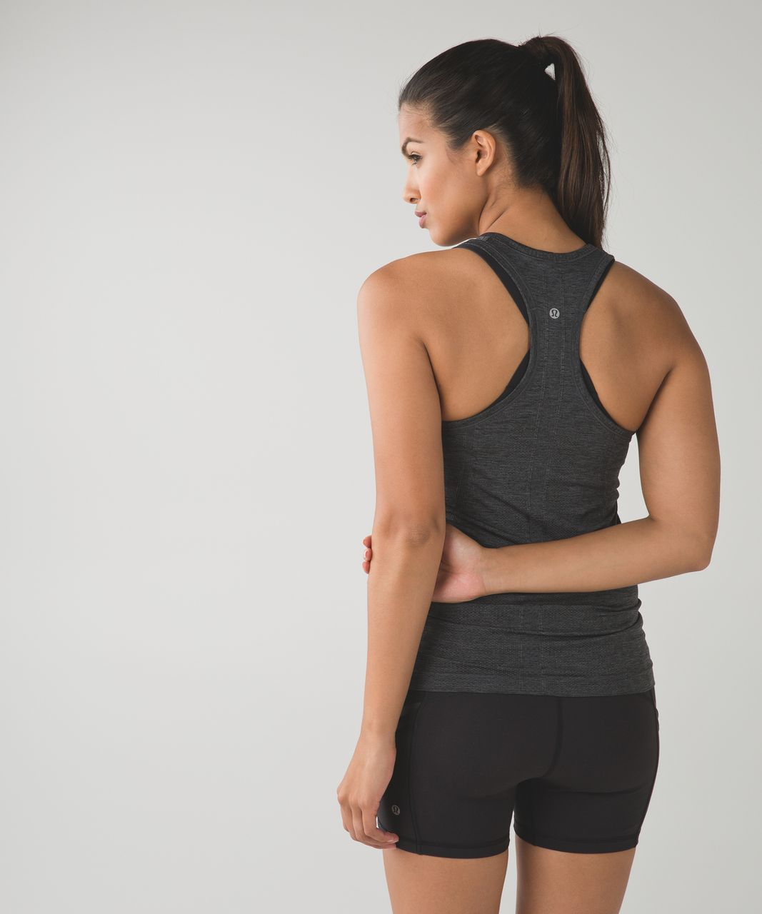 Lululemon Swiftly Tech Racerback - Heathered Dark Slate