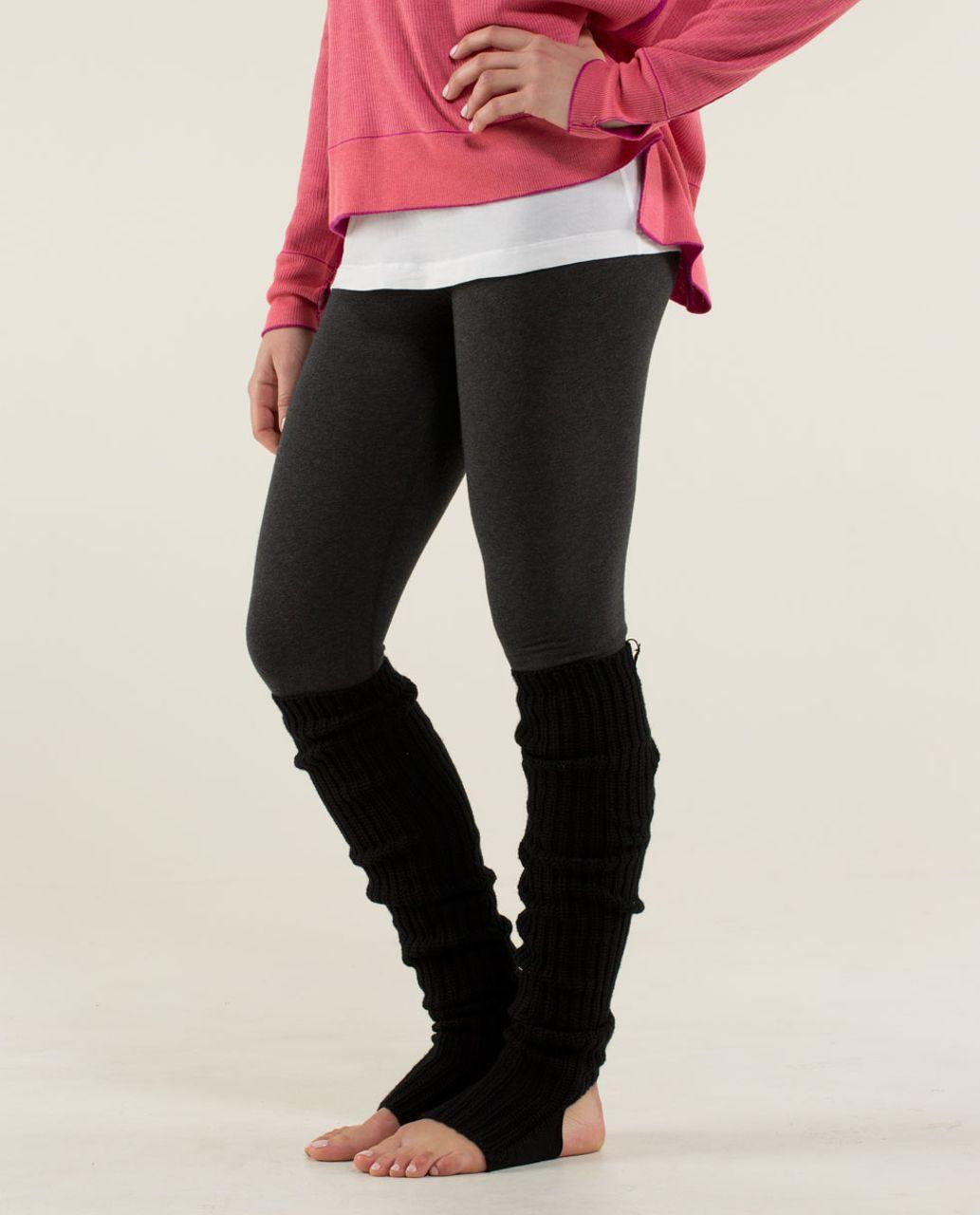 Lululemon Knit Happens Leg Warmers - Black