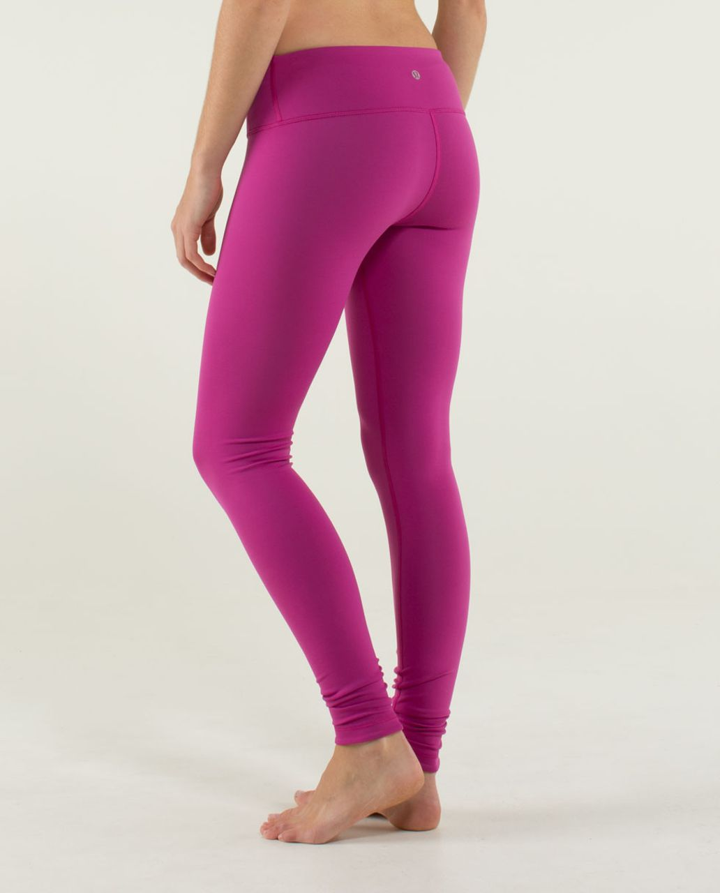 Lululemon Wunder Under Pant *Reversible - Black /  Raspberry