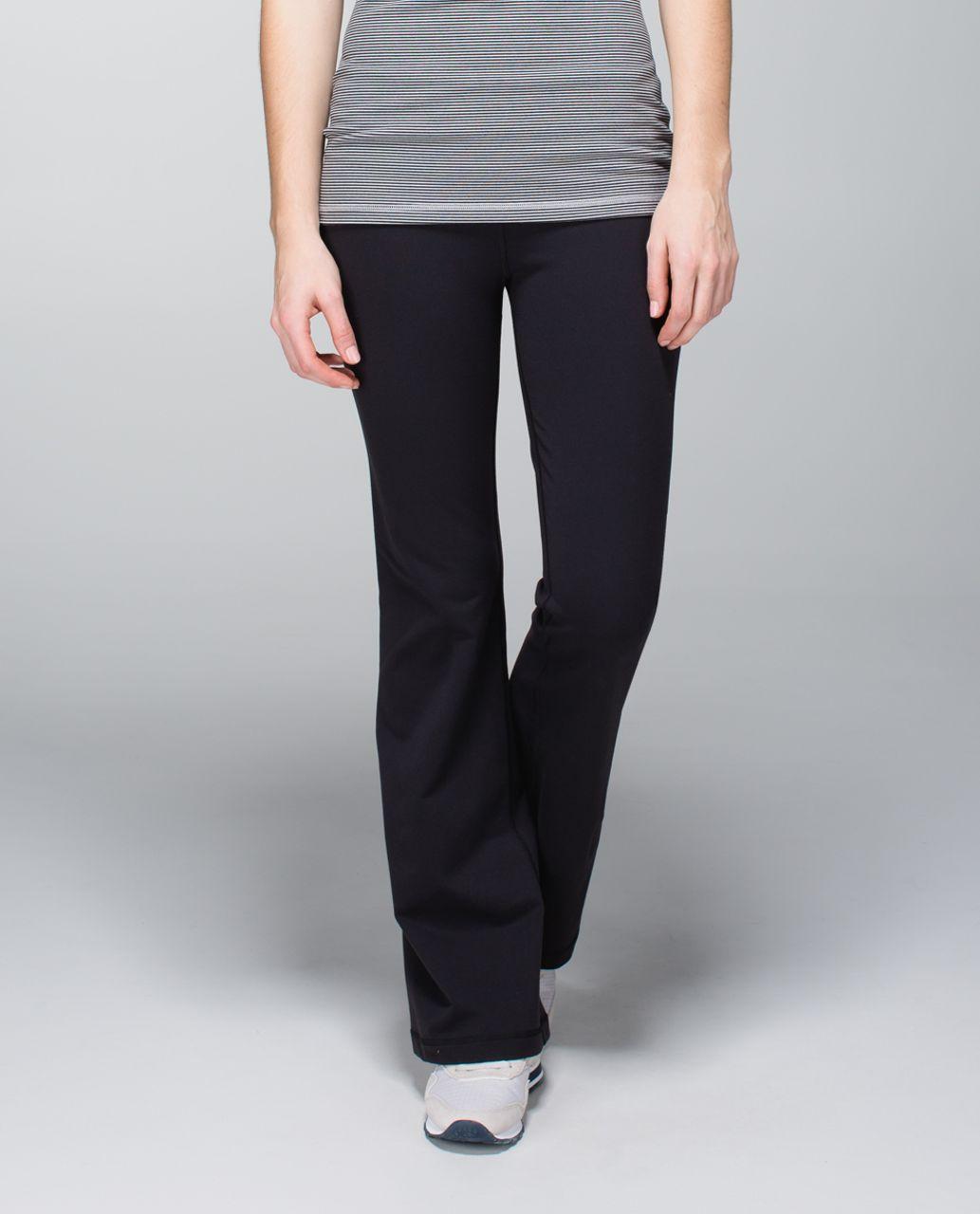 Lululemon Groove Pant (Regular) *Full-On Luon - Black