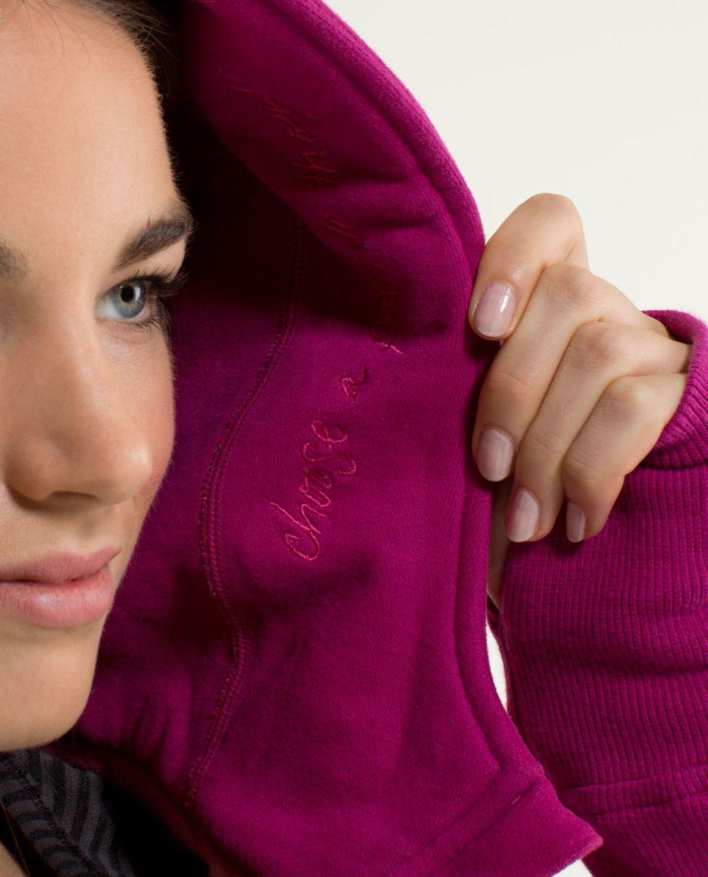 Lululemon Scuba Hoodie *Stretch (Lined Hood) - Raspberry / Guava Lava / Raspberry