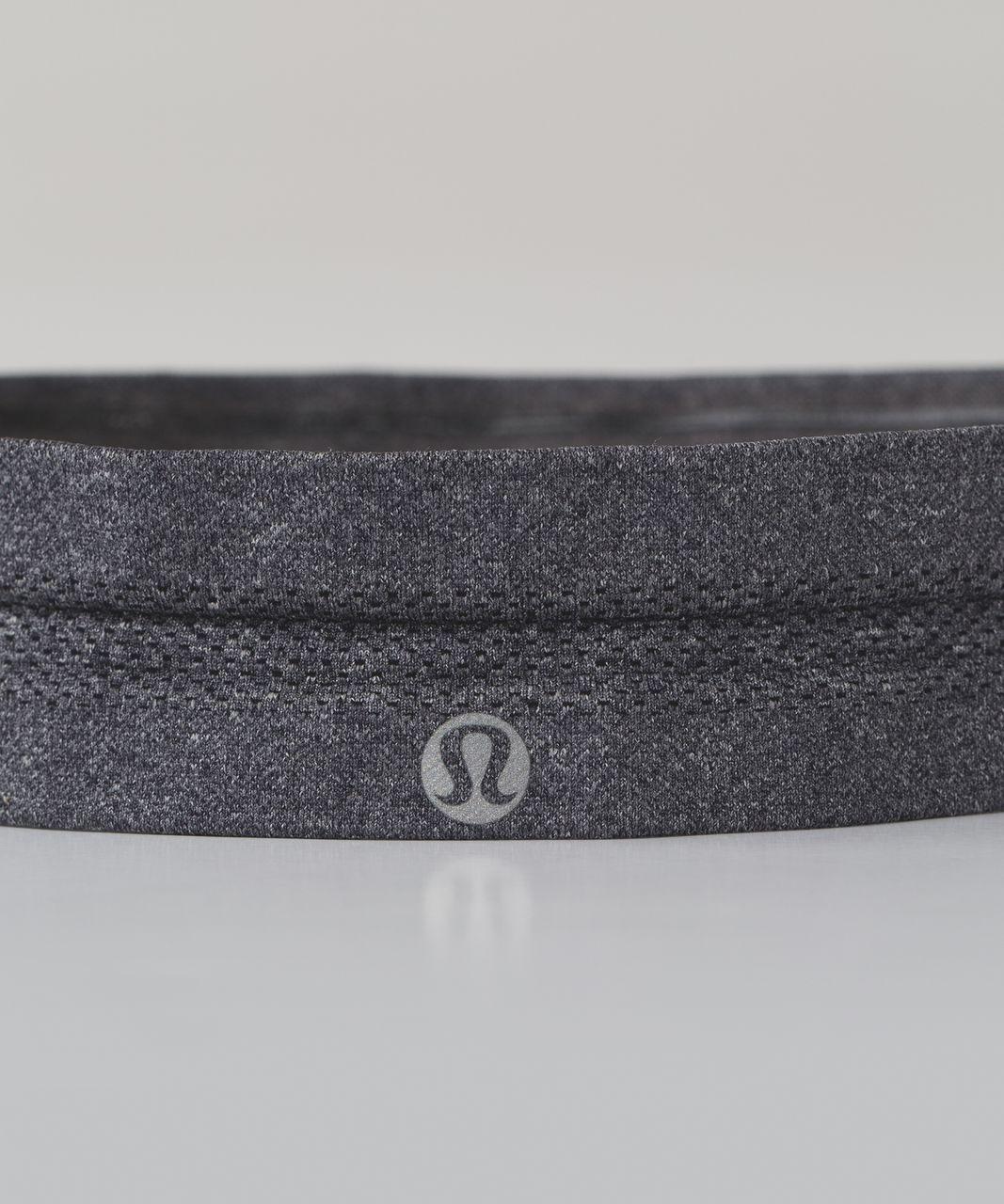 Lululemon Swiftly Headband - Heathered Black (First Release)