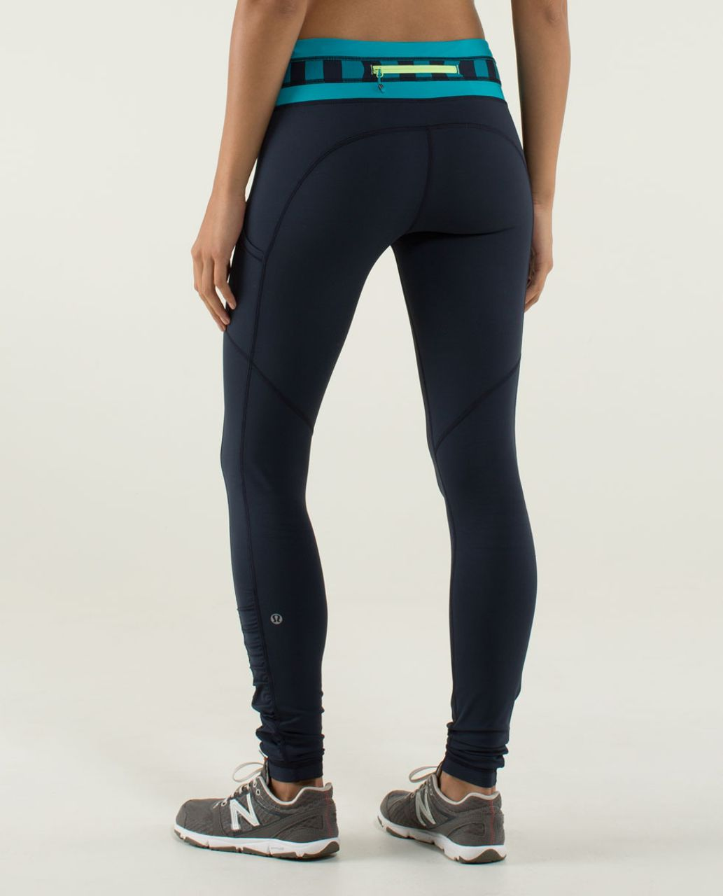 Lululemon Speed Tight *Brushed Interlock - Inkwell / Quilt Winter 13-27