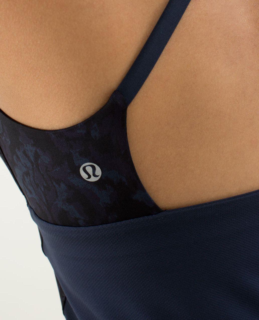 Lululemon Yeah Yoga Tank - Beautiful Baroque Inkwell / Inkwell / Surge