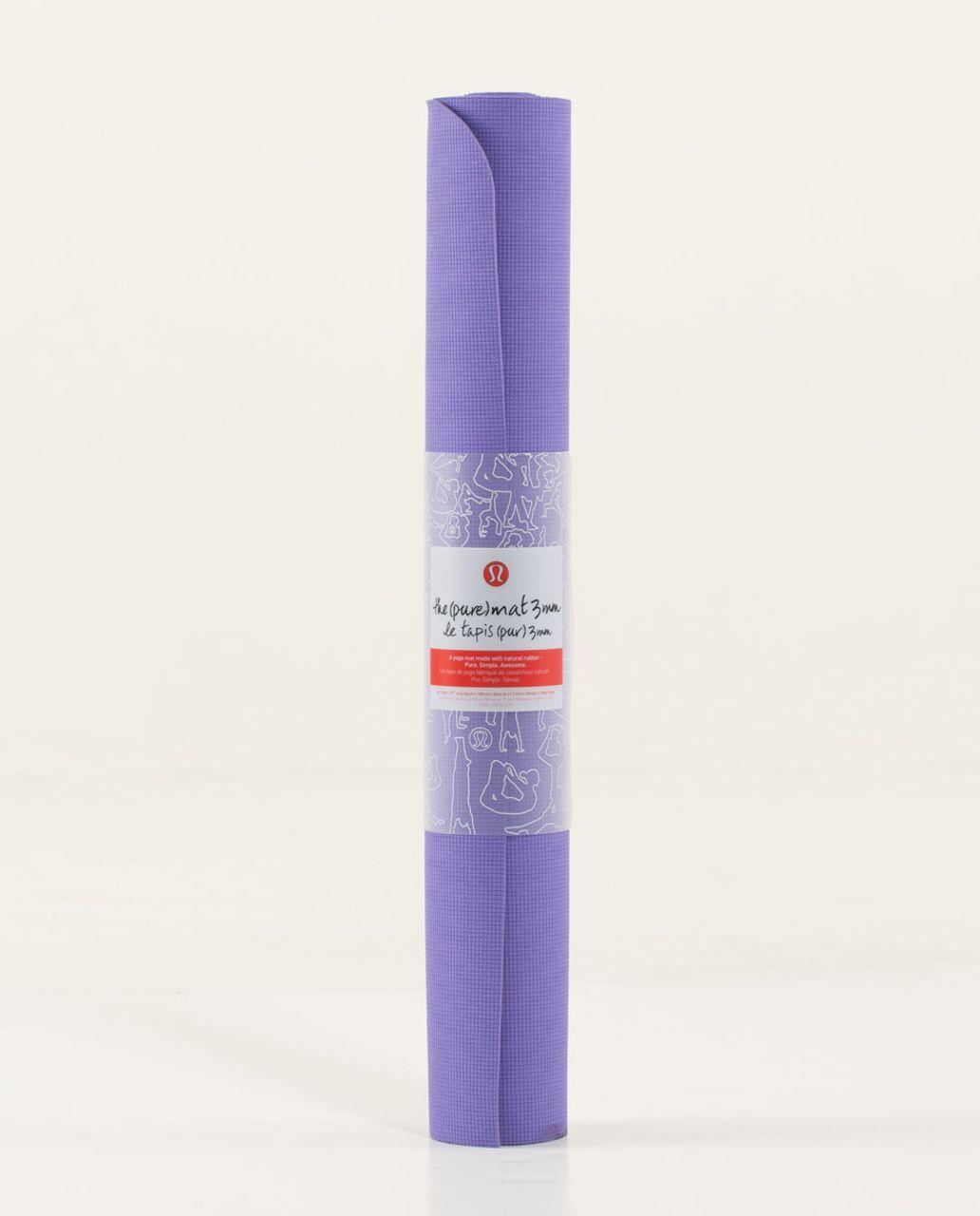 Lululemon The Pure Mat 3mm - Winter Orchid