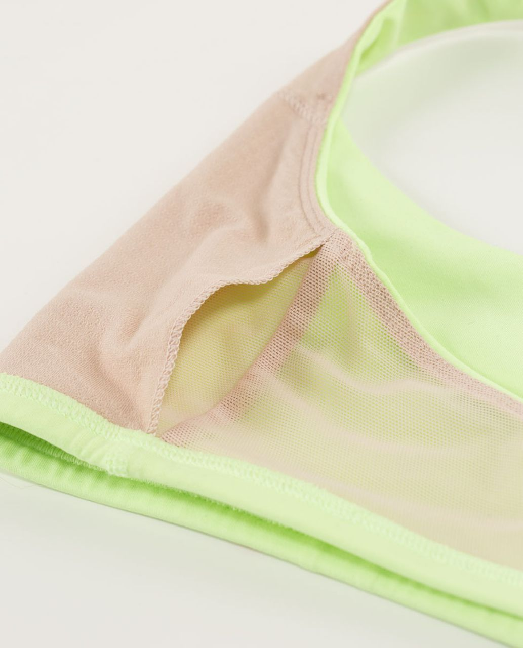 Lululemon Free To Be Bra - Clear Mint