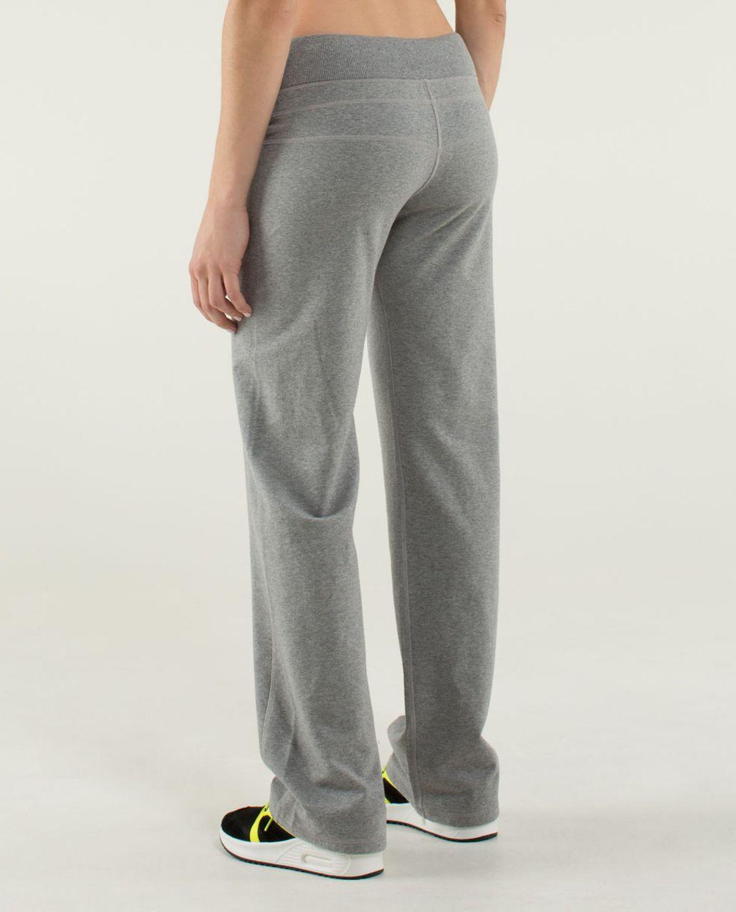 4fd667d271 Lululemon Calm & Cozy Pant - Heathered Medium Grey - lulu fanatics