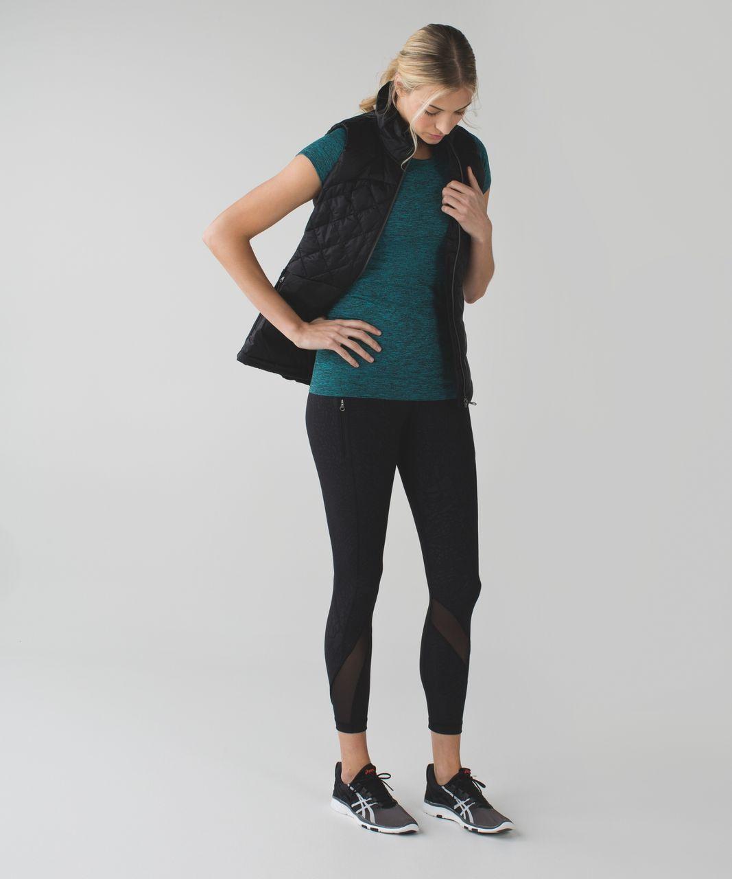 Lululemon Swiftly Tech Short Sleeve Crew - Heathered Peacock