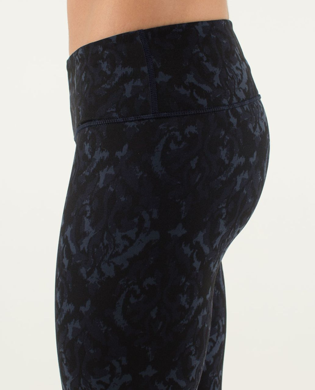 Lululemon Wunder Under Pant - Beautiful Baroque Inkwell / Micro Macro Stripe Surge