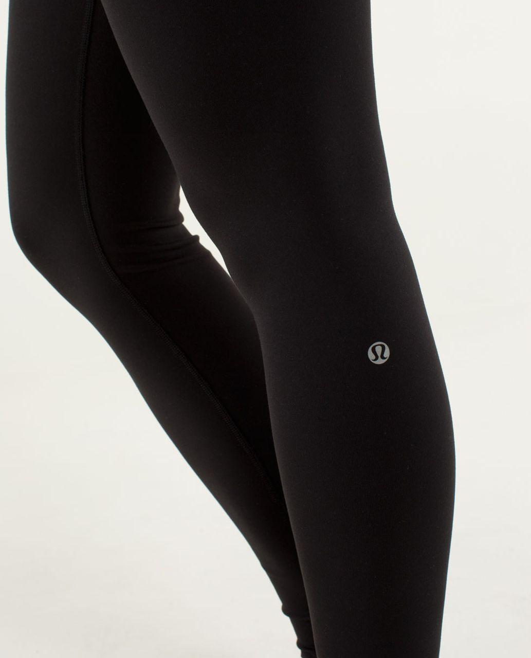 Lululemon Wunder Under Pant *Full-On Luon - Black / Quilt Winter 13-03