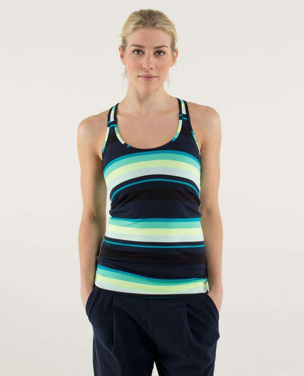 Lululemon Cool Racerback - Assorted Stripe Surge