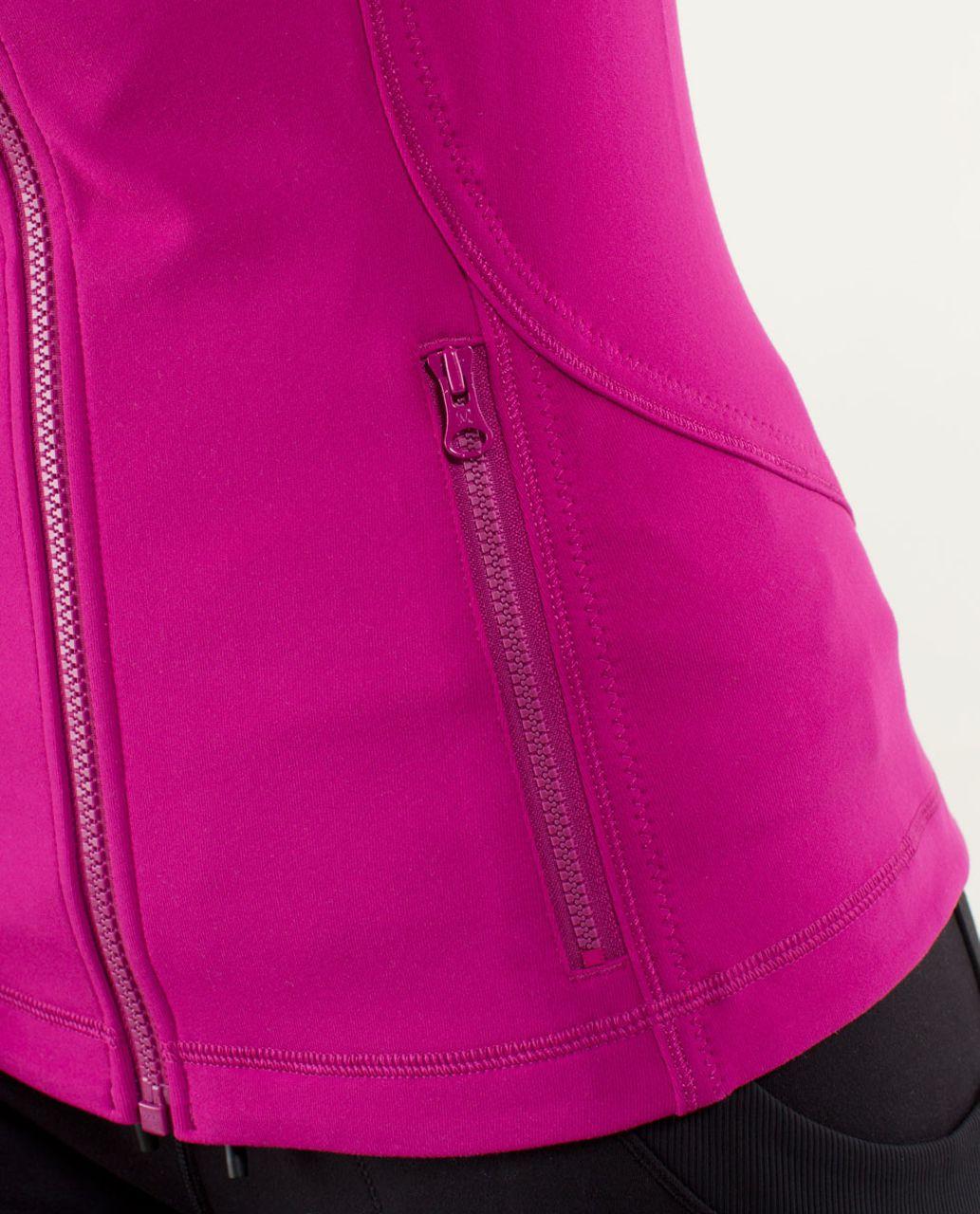 Lululemon Forme Jacket II *Brushed - Raspberry