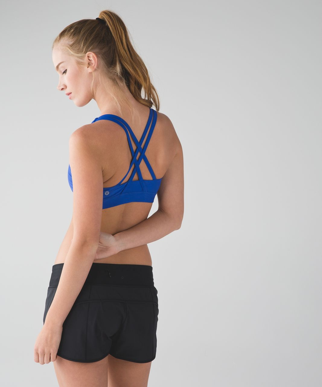 Lululemon Energy Bra (H2O) - Harbor Blue