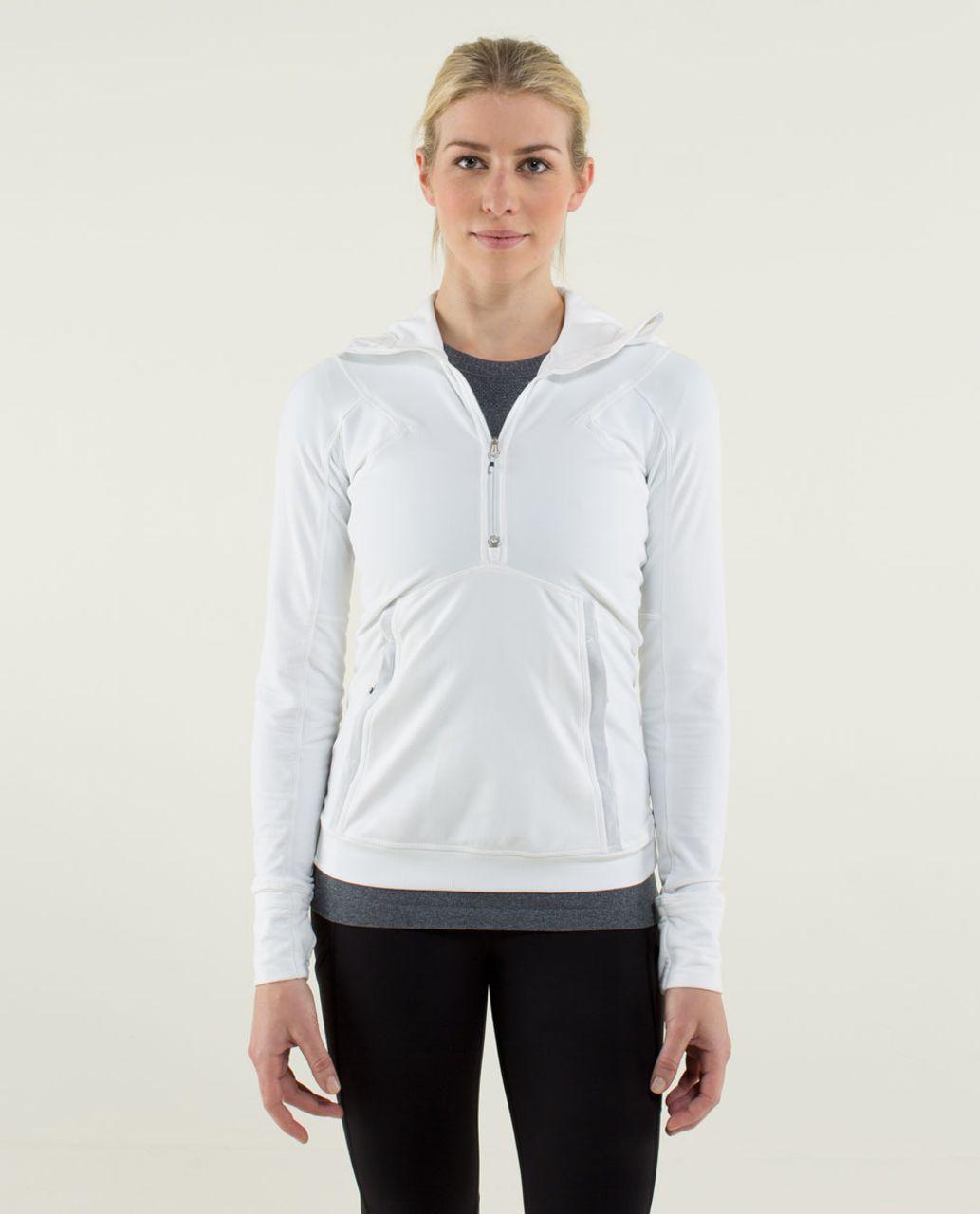 Lululemon Winter Sprinter Hoodie - White