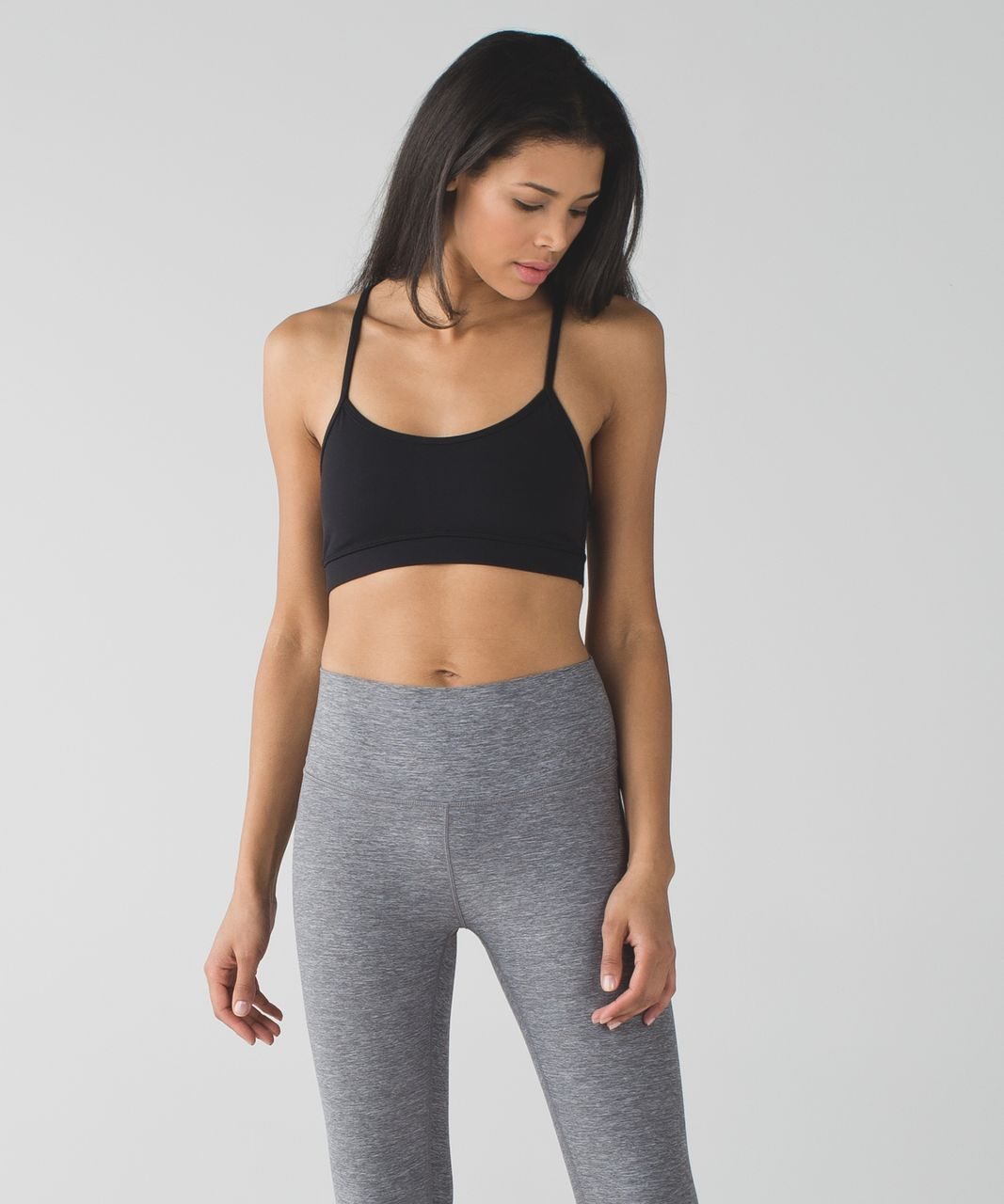 Lululemon Flow Y Bra IV *Full-On Luxtreme - Black