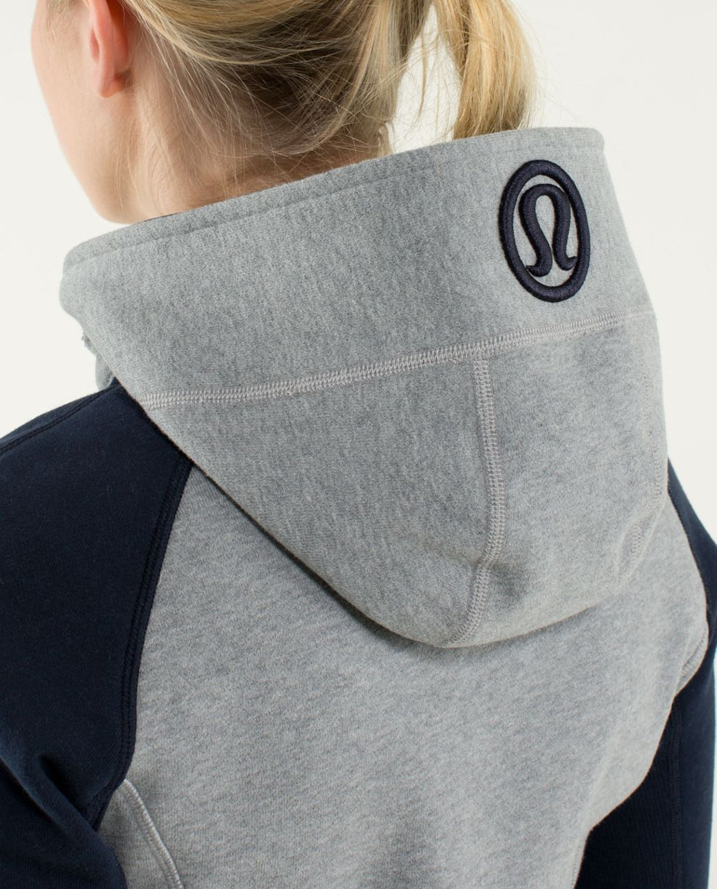 Lululemon Scuba Hoodie *Stretch (Lined Hood) - Heathered Medium Grey / Silver Spoon / Inkwell / Surge / Inkwell