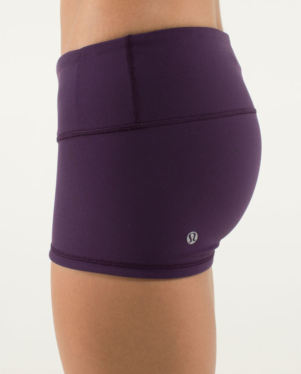 Lululemon Boogie Short - Deep Zinfandel / Black