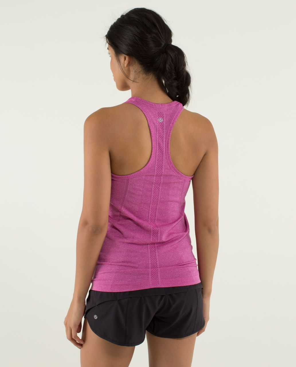 Lululemon Run:  Swiftly Tech Racerback - Heathered Raspberry