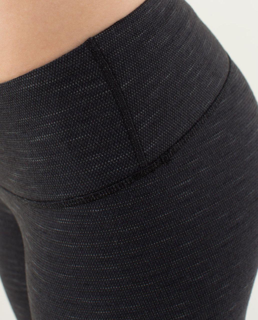Lululemon Wunder Under Pant - Pique Luon Black / Black