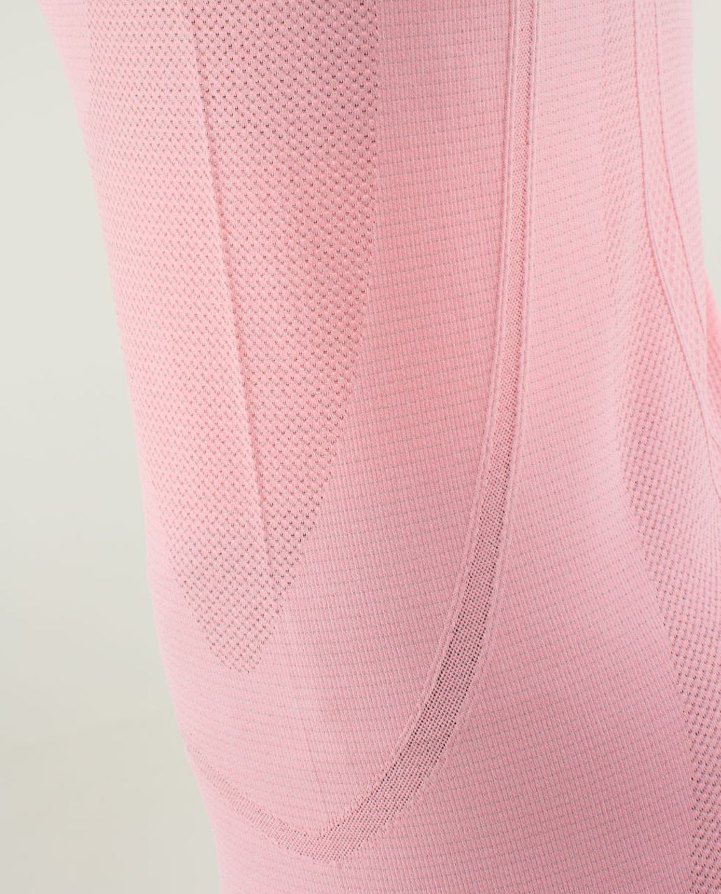 Lululemon Run:  Swiftly Tech Long Sleeve - Heathered Bleached Coral