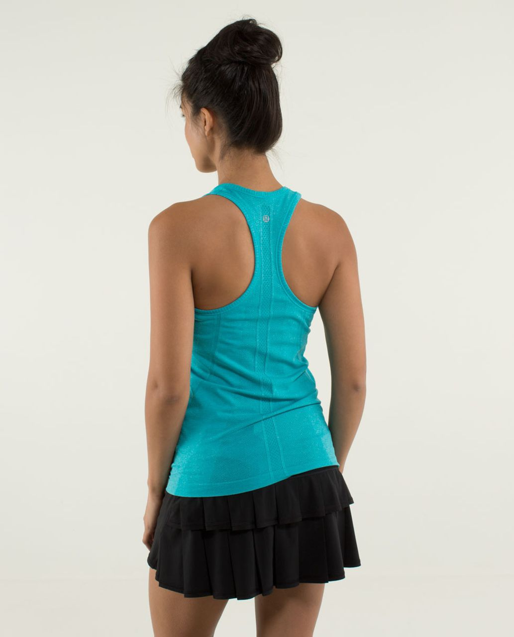 Lululemon Run:  Swiftly Tech Racerback - Heathered Surge