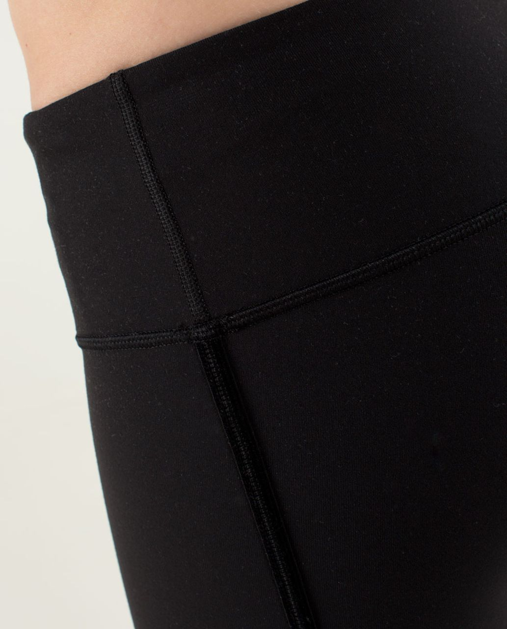 Lululemon Wunder Under Crop *Bow - Black