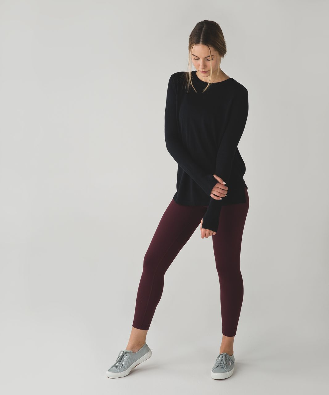 Lululemon Bring It Backbend Sweater - Black