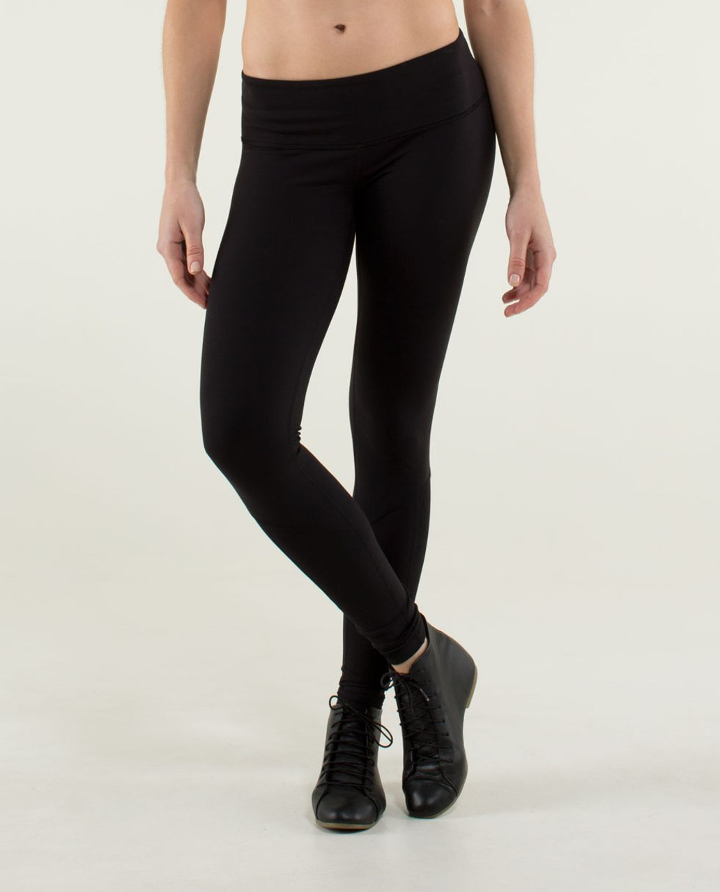 Lululemon Wunder Under Pant *Lace - Black