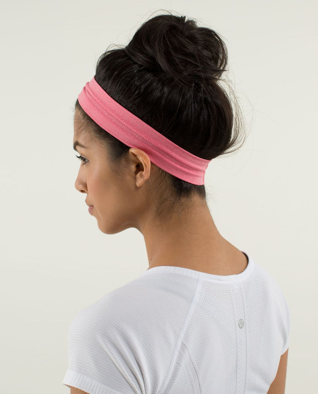 Lululemon Swiftly Headband - Heathered Guava Lava