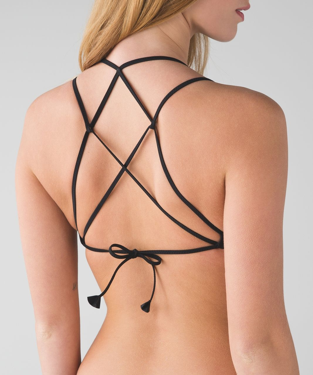 Lululemon Tidal Flow Triangle Top - Black