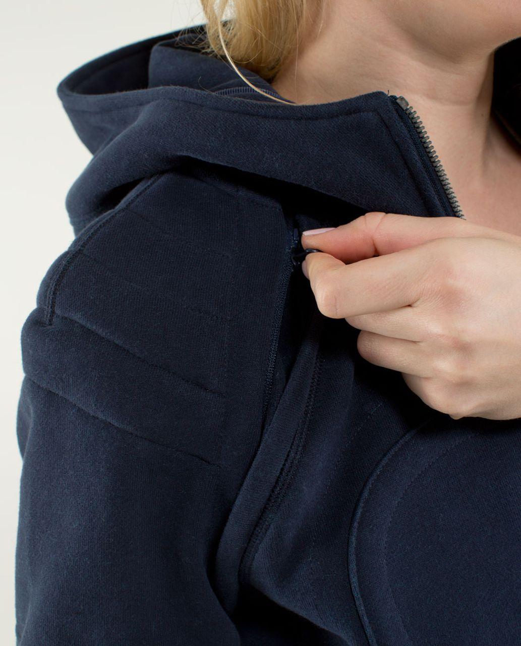 Lululemon Scuba Hoodie *Vest - Inkwell / Surge / Inkwell