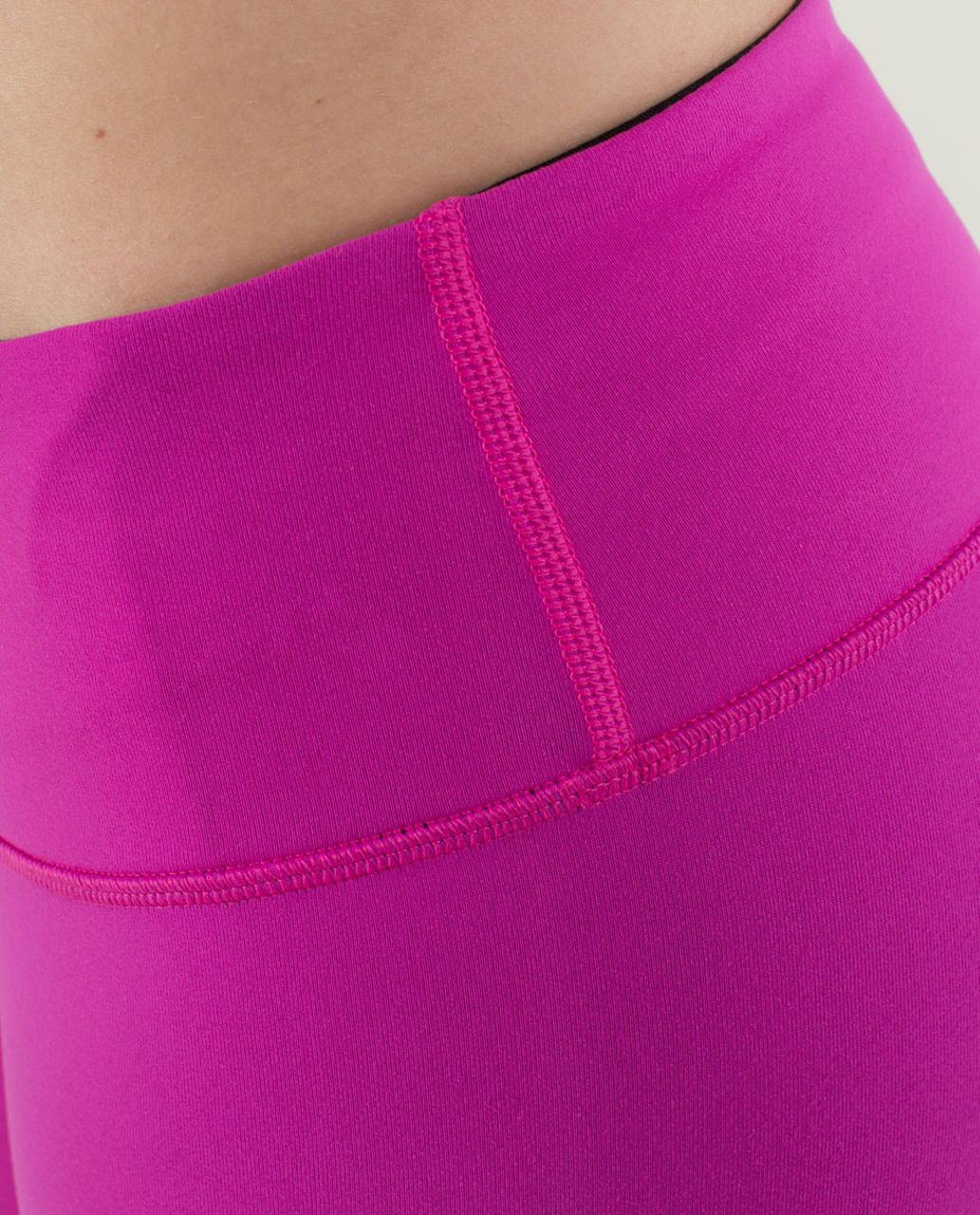 Lululemon Wunder Under Crop *Reversible - Black / Paris Perfection