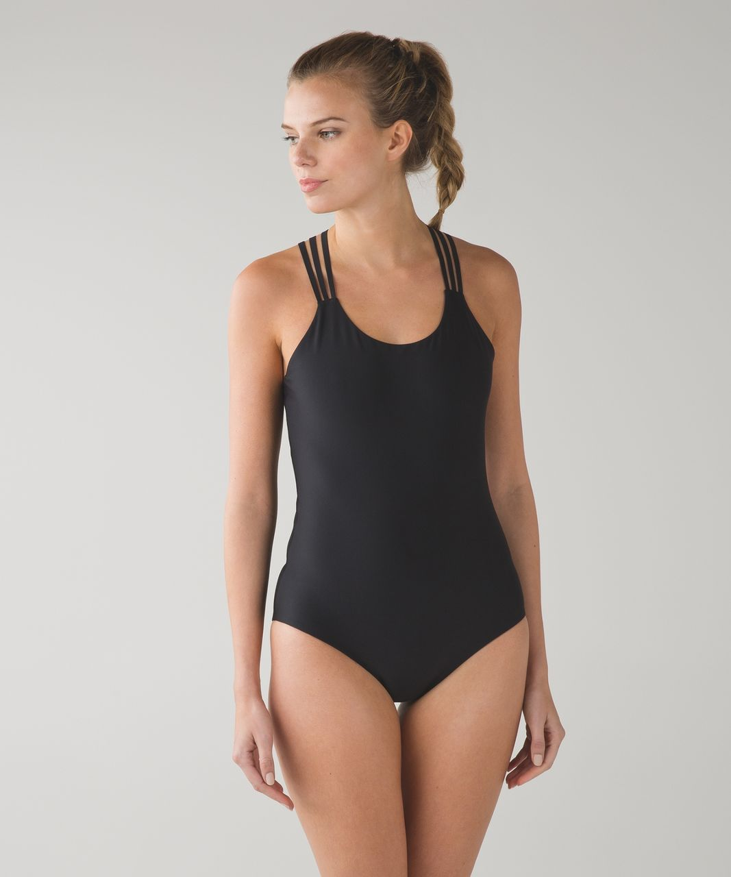 Lululemon Water: Strappy Back One Piece - Black