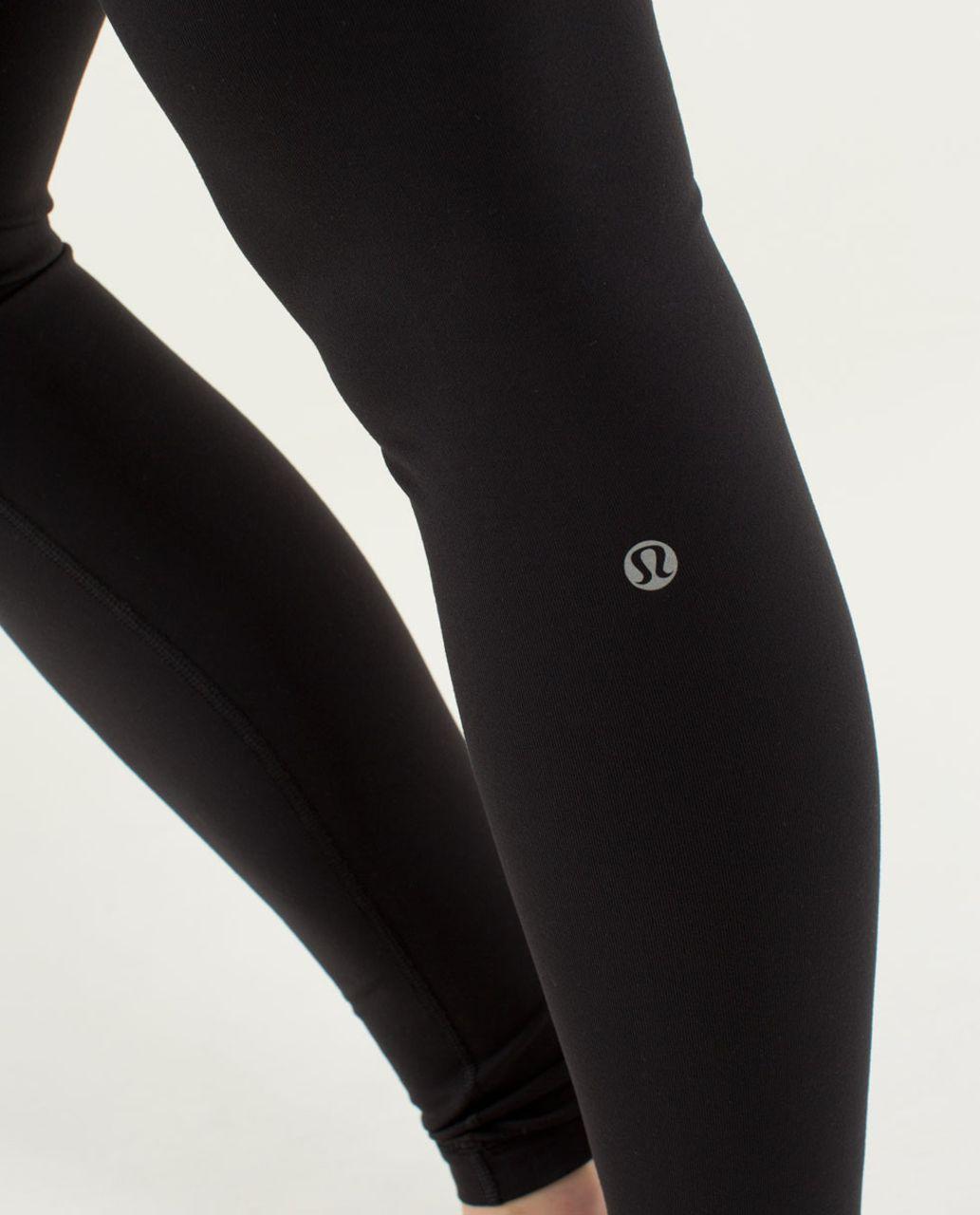 Lululemon Wunder Under Pant *Full-On Luon - Black / Quilt Winter 13-04