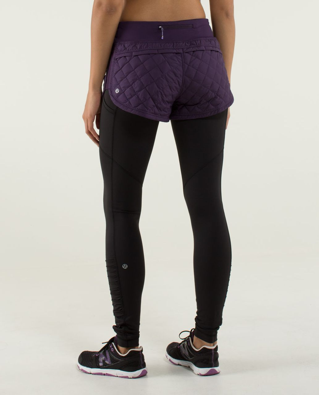 Lululemon Hot Cheeks Short - Deep Zinfandel